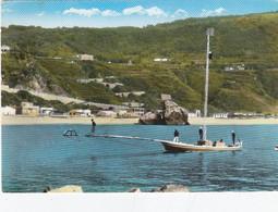 PALMI-REGGIO CALABRIA-LA PESCA DEL PESCE SPADA-CARTOLINA VERA FOTOGRAFIA VIAGGIATA  IL 22-9-1963 - Reggio Calabria