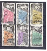 BAU803 TSCHECHOSLOWAKEI 1959  Michl  1170/75 ** Postfrisch SIEHE ABBILDUNG - Unused Stamps