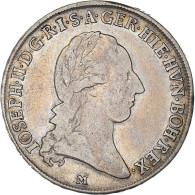 Monnaie, États Italiens, MILAN, Joseph II, 1/2 Crocione, 1/2 Kronenthaler - Lombardo-Veneto
