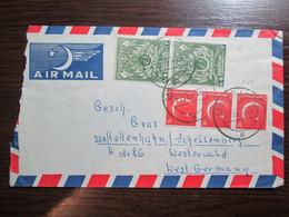 1959 Pakistan Cover Letter Stamps - Pakistan