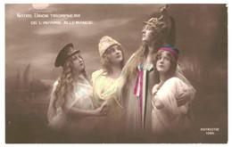 CPA-Carte Postale France-Guerre 1914-18-Notre Union Triomphera De L'Infamie Allemande  VM39490 - Patriottiche