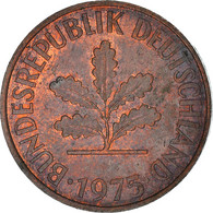 Monnaie, République Fédérale Allemande, 2 Pfennig, 1975, Baden, TTB, Copper - Sonstige