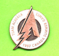 Pin's Jeux Du Canada Games '97 Team Équipe Alberta - 6BB14 - Games