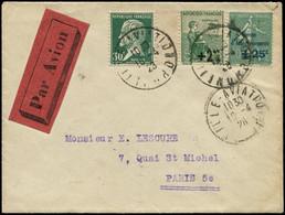 LET FRANCE - 1° Vols - 16/4/28, Lille/Paris, Service Temporaire (Saul 15) - Eerste Vluchten