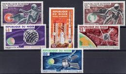 NIGER :1966: Y.LP/PA 56-61*** Postfris/neufs/MNH : SPACE,SATELLITES. - Africa