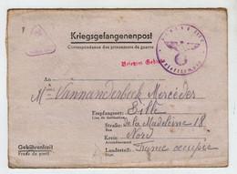 France Correspondance Des Prisonniers De Guerre 6 Avril 1941 Stalag IIIC Pour Lille - Guerres