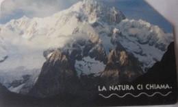USATA--1915-TELECOM ITALIA-LA NATURA CI CHIAMA-IL MONTE BIANCO 2 - Pubbliche Figurate Ordinarie
