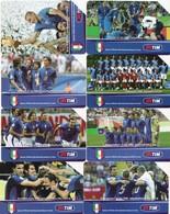 USATE-2174/81-TELECOM ITALIA- SERIE CAMPIONI DEL MONDO-8 SCHEDE - Pubbliche Figurate Ordinarie