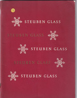 1385 Steuben Glass New York Catalogue 64 Pages - Glass & Crystal