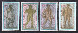 SERIE NEUVE DU VATICAN - MOSAÏQUES DES THERMES DE CARACALLA, A ROME N° Y&T 811 A 814 - Altri