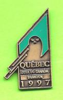 Pin's Jeux Du Canada Games Brandon '97 Team Équipe Québec (Harfang Des Neiges) - 6BB19 - Games