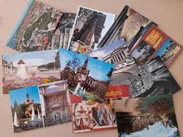 Lot De 4000 Cartes Cpm . Cpsm    De France , Ville , Village , Mer , églises , Chateaux , Divers - 500 CP Min.