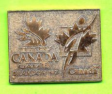 Pin's Jeux Du Canada Games Brandon '97 (Doré) - 6BB25 - Games
