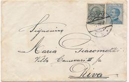 1920 OCCUPAZIONE ITALIANA EX TERRITORI AUSTRIACI  SARCHE B X RIVA - Trento & Trieste