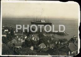 OLD PHOTO POSTCARD SHIP LINER PAQUEBOT VESSEL STEAMER GERMANY DEUTSCHLAND DEUTSCH STAMPED - Dampfer