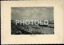 OLD PHOTO POSTCARD SHIP LINER PAQUEBOT VESSEL STEAMER GERMANY DEUTSCHLAND DEUTSCH - Dampfer