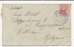 1919 OCCUPAZIONE ITALIANA EX TERRITORI AUSTRIACI  ST ULRICH IN GRODEN - Trento & Trieste