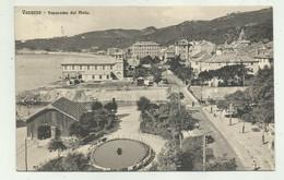 VARAZZE - PANORAMA DAL MOLO  -  VIAGGIATA FP - Savona