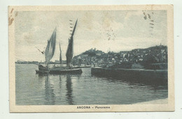 ANCONA - PANORAMA 1924  -  VIAGGIATA FP - Ancona