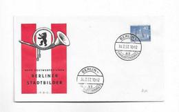 Karte Aus Berlin 1957 - Briefe U. Dokumente