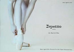 ►   Publicité Repetto Marie Agnès Gillot  Danseuse étoile Opéra - Publicidad