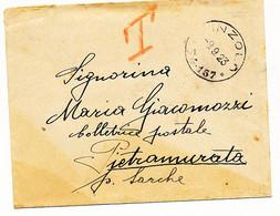 1923 OCCUPAZIONE ITALIANA EX TERRITORI AUSTRIACI  PINZOLO CERCHIO FRAZIONARIO 4-157 - Trento & Trieste