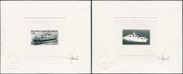 EPA TERRES AUSTRALES - Poste - 330, 2 épreuves D'artiste En Noir (1 Négatif), Signées Jumelet: Marion Dufresne - Unclassified