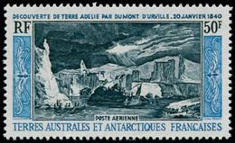 ** TERRES AUSTRALES - Poste Aérienne - 8, 50f. Terre Adélie - Unclassified