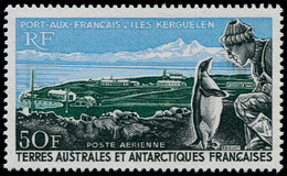 ** TERRES AUSTRALES - Poste Aérienne - 14, 50f. Manchot De Kerguelen - Unclassified