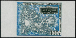 ** TERRES AUSTRALES - Poste Aérienne - 20, Non Dentelé, Bdf: 100f. Kerguelen - Unclassified