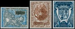 ** TERRES AUSTRALES - Poste Aérienne - 20/22, 100f. Kerguelen - 500f. Armoiries - 30f. Amsterdam - Unclassified