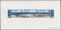 EPL TERRES AUSTRALES - Poste Aérienne - 34/36, épreuve De Luxe Collective: Base Alfred Faure - Unclassified