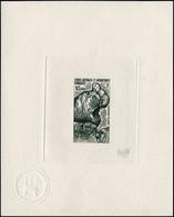 EPA TERRES AUSTRALES - Poste Aérienne - 55, épreuve D'artiste En Noir, Signée Andréotto: Eléphant De Mer - Unclassified