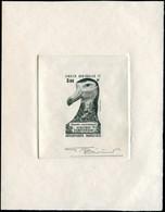 EPA TERRES AUSTRALES - Poste Aérienne - 87, épreuve D'artiste En Noir, Signée Bétemps: Albatros D'Amsterdam - Unclassified