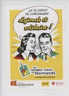 Au Rendez-vous Des Normands - Consommer Régional Et Solidaire Et Payer En ROLON - La Boutique En Ligne - Publicidad