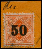 O ALL.  WURTEMBERG - Service - 180, Signé Sur Petit Fragment - Wuerttemberg