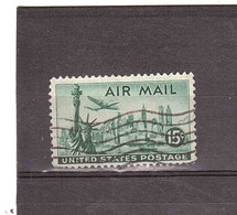 1974 15c AIR MAIL - 2a. 1941-1960 Used