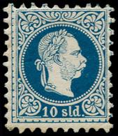 * LEVANT AUTRICHIEN - Poste - 4A, Impression Fine, Dentelé 9, Très Frais: 10s. Bleu (Netto 4IIB) - Eastern Austria