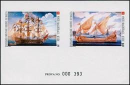 EPL ORDRE DE MALTE - Poste - 360/61, épreuve Collective De Luxe Numérotée (prova): Bateaux Anciens - Sovrano Militare Ordine Di Malta