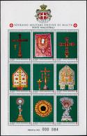 EPL ORDRE DE MALTE - Poste - 384/92, épreuve Collective De Luxe Numérotée (prova): Art Sacré - Sovrano Militare Ordine Di Malta