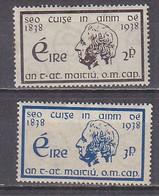 Q0700 - IRLANDE IRELAND Yv N°73/74 ** - Unused Stamps