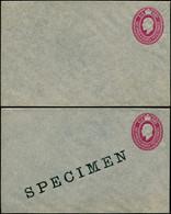 N AFRIQUE ORIE.ANGLAISE - Entiers Postaux - 4 Enveloppes à  6c. Rouge + 1 Anna Différentes (dont 3 Spécimens): Edouard V - Other