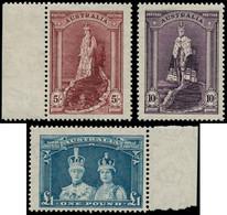 ** AUSTRALIE - Poste - 120/22a, Papier Transparent: 5/-, 10/-, 1£, Série Courante 1948 - Unclassified