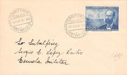 CHILE - LETTER 1948 TERRITORIO ANTARTICO CHILENO  /QG116 - Cile
