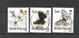 FINLANDIA - 1986 - N. 957/59 USATI (CATALOGO UNIFICATO) - Gebraucht