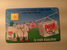 TELECARTE FRANCE TELECOM  120 LESSIVE PERSIL - Alimentazioni