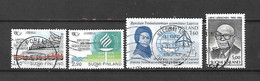 FINLANDIA - 1986 - N. 960/61 - N. 966 - N. 967 USATI (CATALOGO UNIFICATO) - Gebraucht