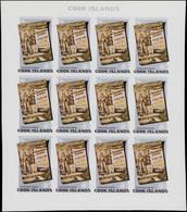 ** COOK - Poste - 764/68, 5 Feuillets De 12 Non Dentelés: Jeux Olympiques De Los Angeles 1984 - Cookeilanden