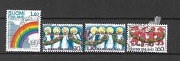 FINLANDIA - 1986 - N. 968 - N. 969/71 USATI (CATALOGO UNIFICATO) - Gebraucht
