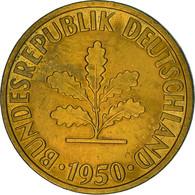 Monnaie, République Fédérale Allemande, 10 Pfennig, 1950, Hambourg, TTB+ - 10 Pfennig